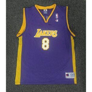 9827a35cd08 Champion LA Lakers Kobe Bryant basketball Jersey